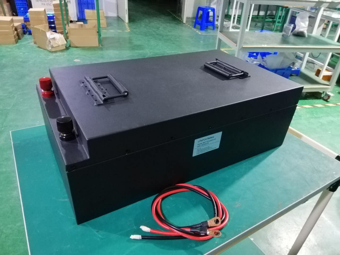 72V 120Ah Lithium Battery LiFeP04 Wholesale Electric Forklift